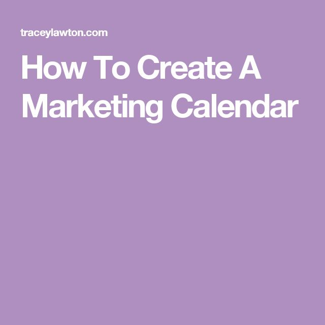 The 25+ Best Marketing Calendar Ideas On Pinterest