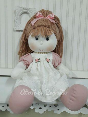 dd827fb35 Compre Boneca de Pano Camponesa no Elo7 por R  135
