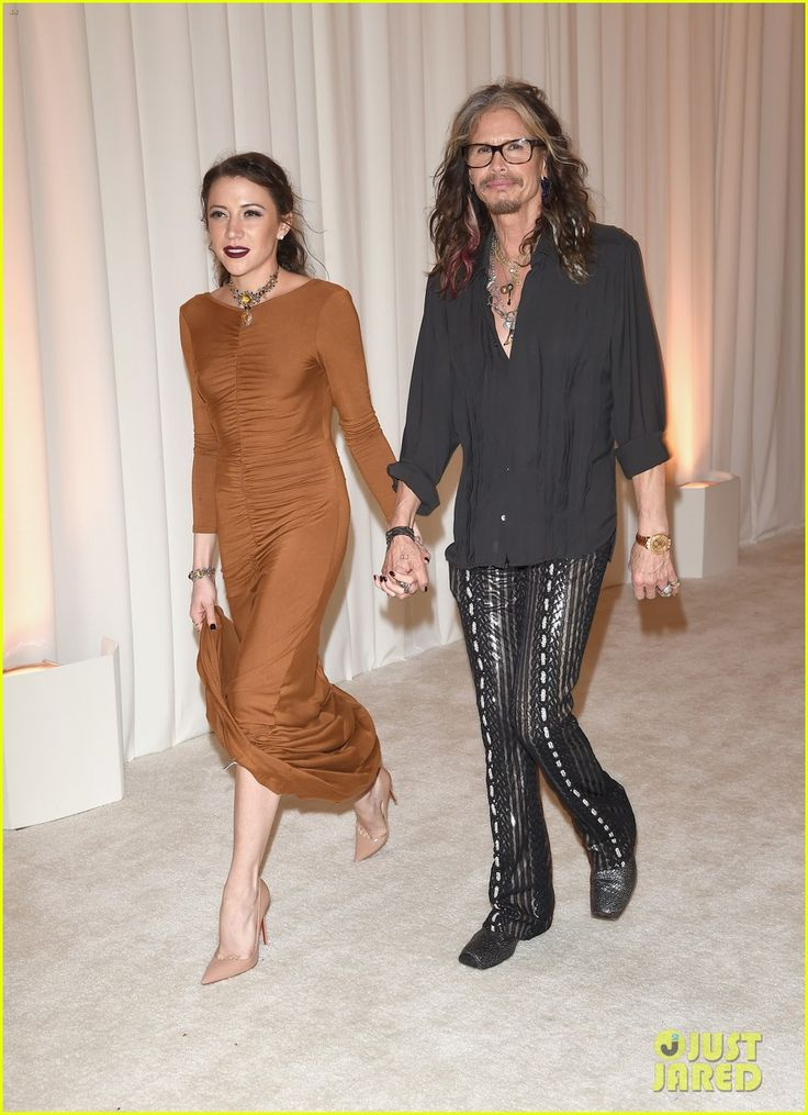 Steven Tyler Goes Public with Girlfriend 39 Years His Junior