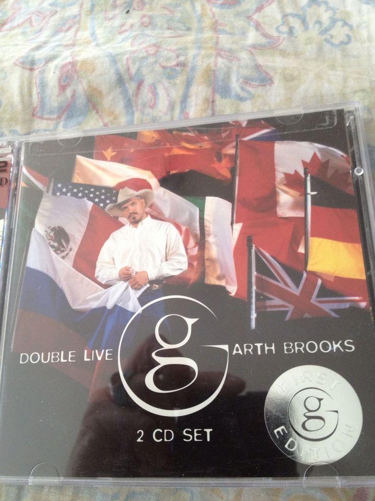 double live garth brooks 2 cd set