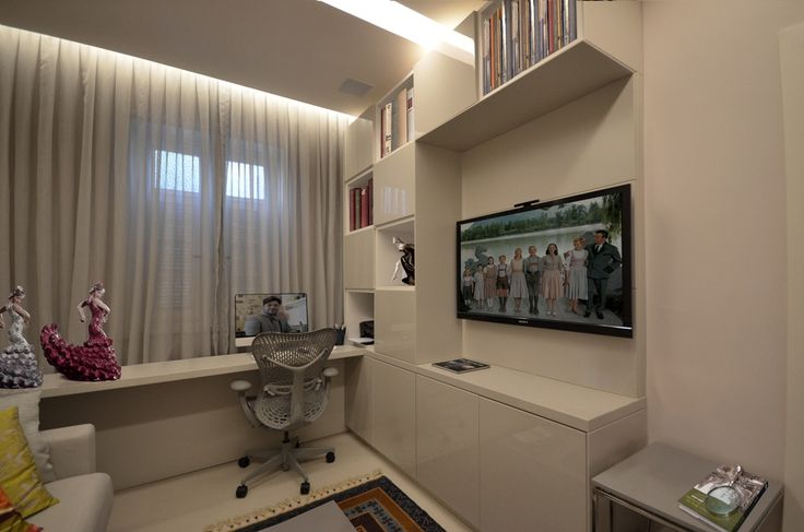 Apartamento integrado da empreendedora