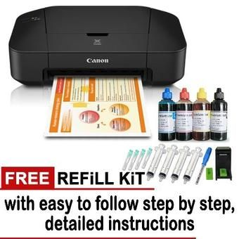 Buy Canon Pixma iP2870S Color inkjet Printer with Free 1 Set Refill Kit online at Lazada. Discount prices and promotional sale on all. Free Shipping.