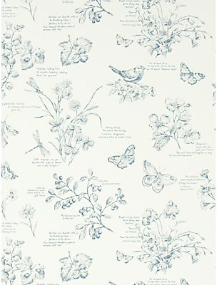 Ralph Lauren Nature Study Toile Wallpaper on shopstyle.com.au