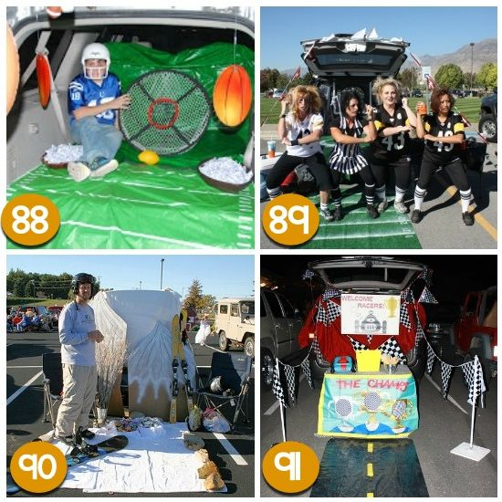 Trunk Halloween Decorating Ideas: 17 Best Images About Holiday: Halloween Trunk Or Treat On