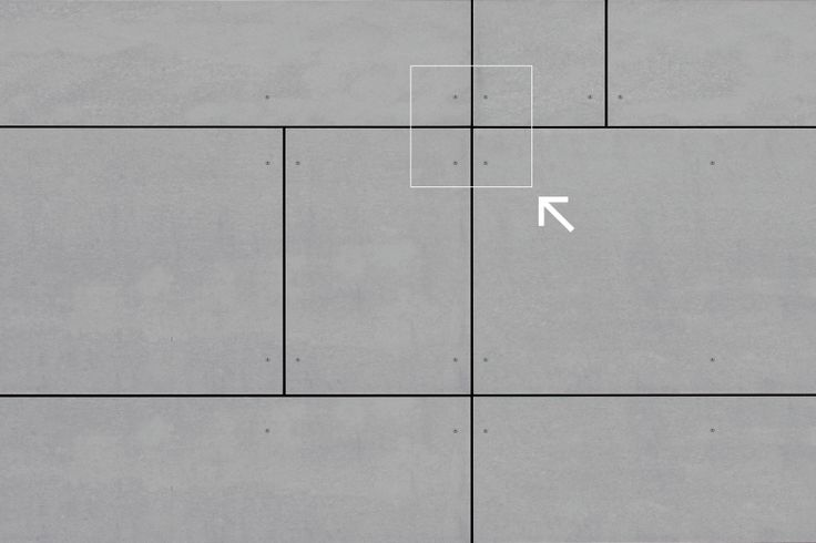 EQUITONE facade panels:Face fixing