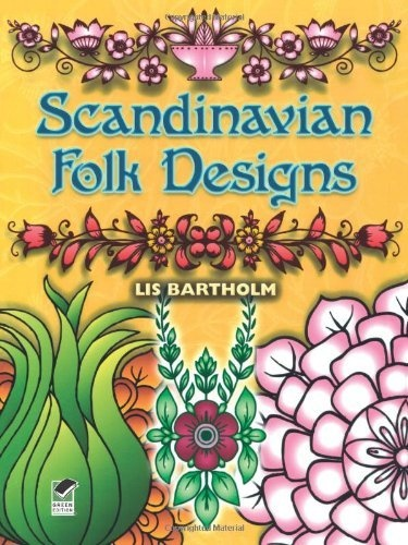 Scandinavian Folk Designs Dover Pictorial Archive By Lis Bartholm