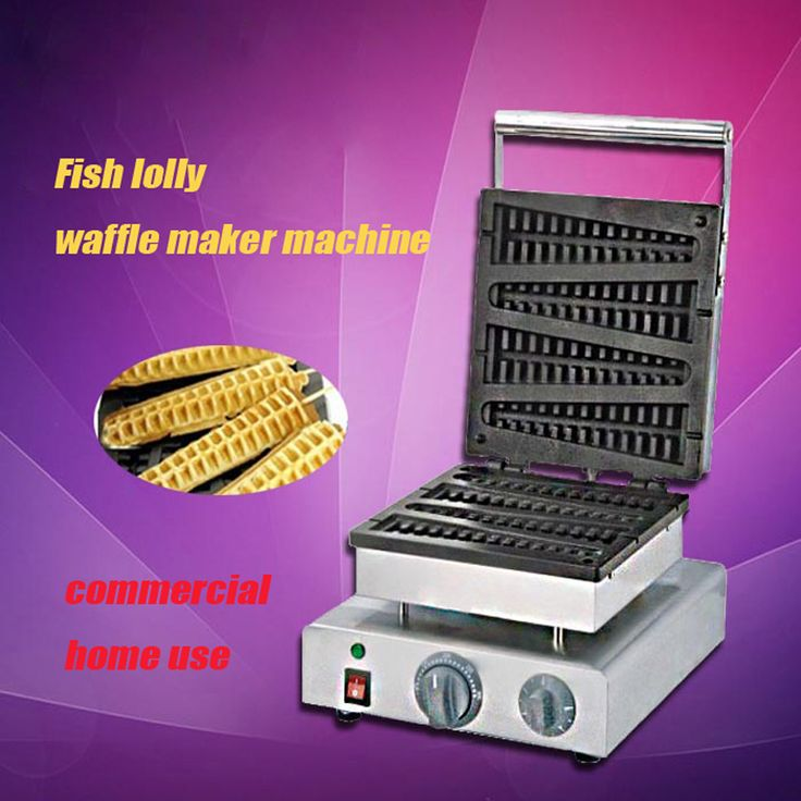 1PC 220V electric stainless steel commercial home use fish lolly waffle maker machine kitchen appliance //Price: $US $257.00 & FREE Shipping //     #kitchenappliances