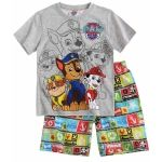 Pijama de vara pentru baieti, licenta originala Paw Patrol.