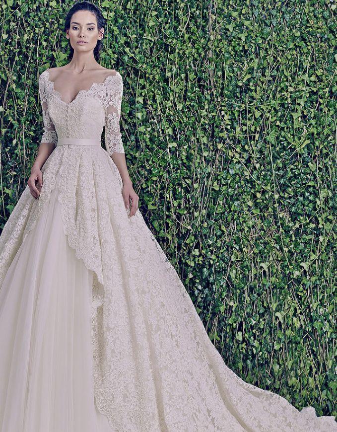 159 best wedding images on pinterest princess fancy dress dream zuhair murad wedding dresses 2015 collection junglespirit Choice Image