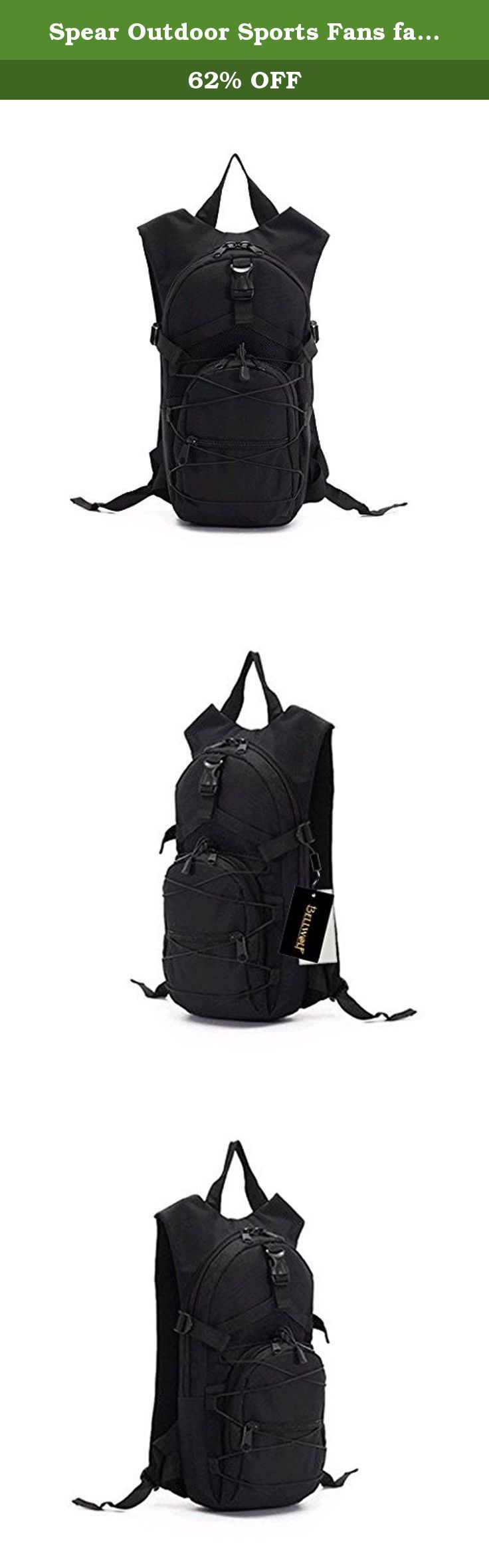Spear Outdoor Sports Fans fashion 006 cycling knapsack and outdoor leisure backpack hiking bag student bag with waterproof cloth Oxford black style( high 47*, width 22* thickness 8 (CM)). Spear Outdoor Sports Fans fashion 006 cycling knapsack and outdoor leisure backpack hiking bag student bag with waterproof cloth Oxford black style( high 47*, width 22* thickness 8 (CM)).