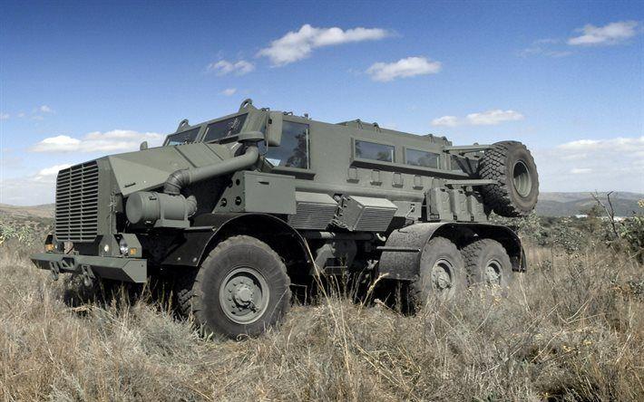 Casspir Mk6, armored car, new armored cars, URAL 4320