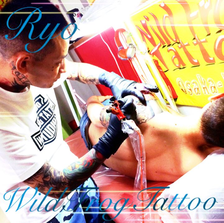 Wild Frog Design Tattoo Studio Japan
