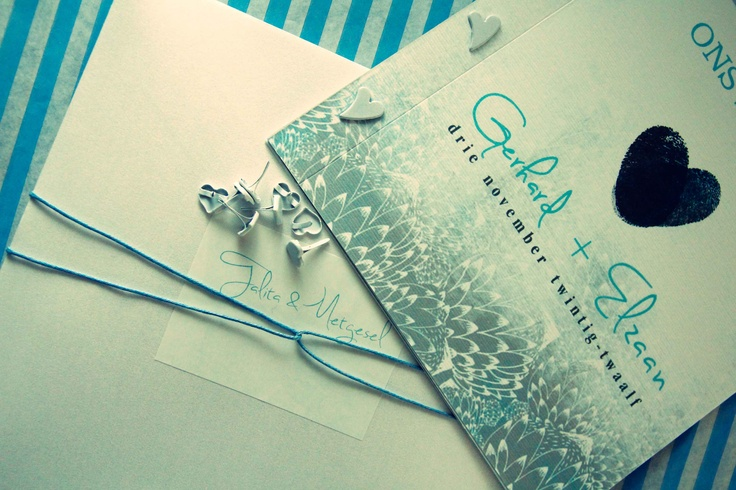 Protea Detail Wedding Invitation