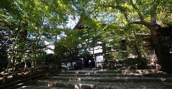 Kyoto Travel: Ryoanji Temple The Kuri building (former temple kitchen)