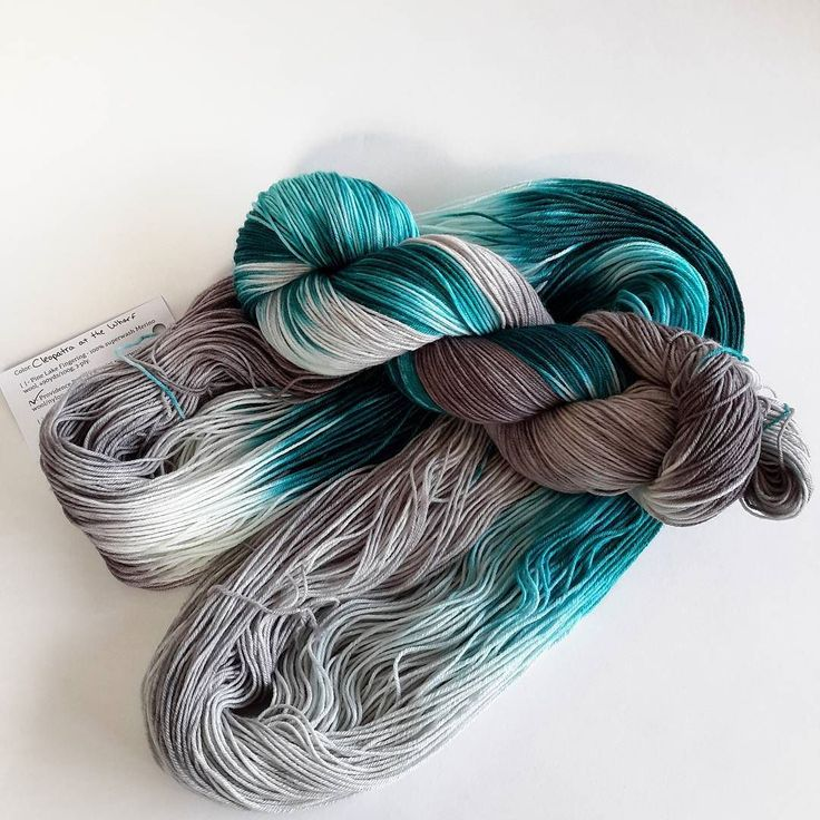 Coming to the shop in 2017 Cleopatra at the Wharf. Shown on Merino/nylon Providence Bay Sock. #bayviewfiberarts