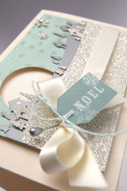 Stampin' Up! Sleigh Ride edgelit, Stampin' with Irina