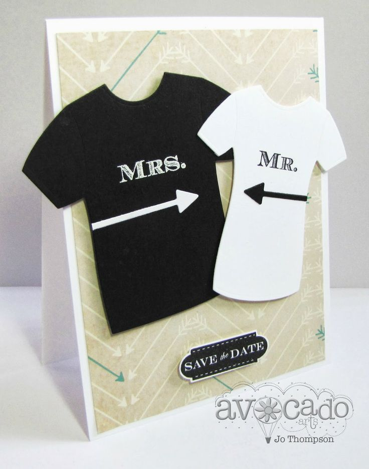 Those Mr and Mrs tee shirts are