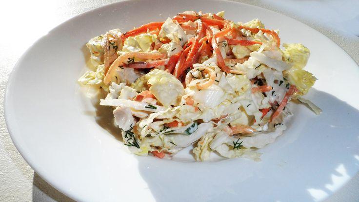 Салат с морковью по-корейски и куриным филе рецепт с фото