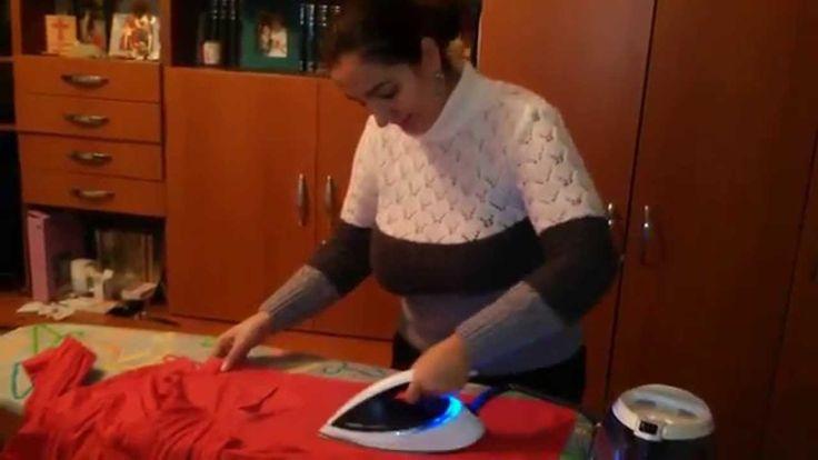 Filmulet pe Youtube cu prezentare si testarea statiei de calcat PhilipPerfect Care Pure