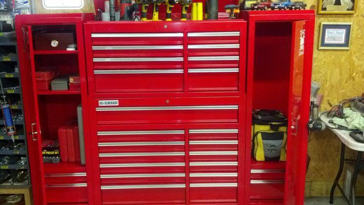 HF tall side locker shelves - item # inside - The Garage Journal Board