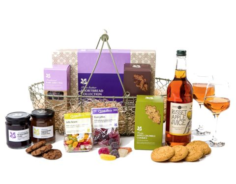 National Trust - The walled garden basket