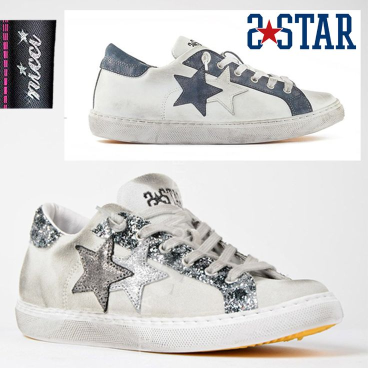 Fabulous #Italian #2Star sneakers now at #Nicci stores & online!
