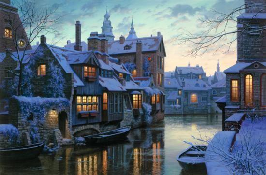 Twilight in Brugge ~ Evgeny Lushpin