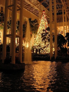 Christmas at the Opryland Hotel in Nashville