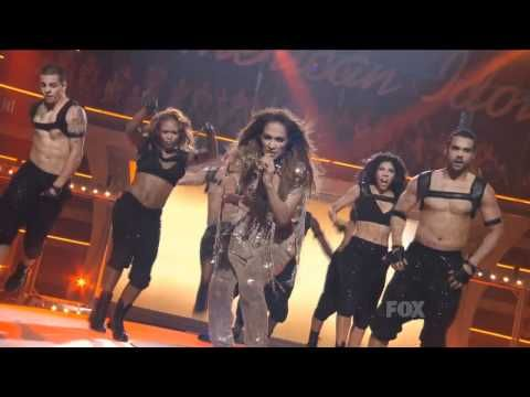 Jennifer Lopez Ft. Pitbull - Live On The Floor American Idol HD - YouTube