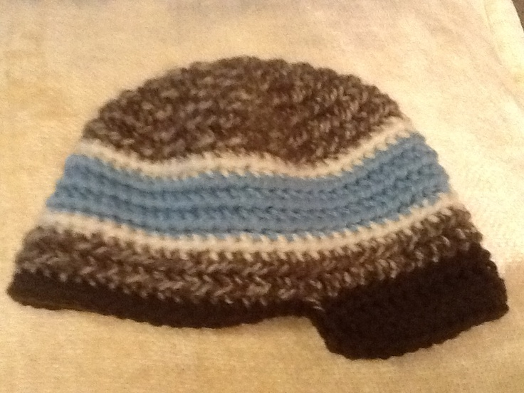 Crochet J Hook : ... hook. Add mor rows to crown and I or J hook for larger at. crochet