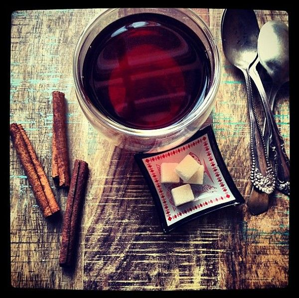 Easy Cinnamon Tea, plus learn the tricky way to drink it... just like they do in Sudan.