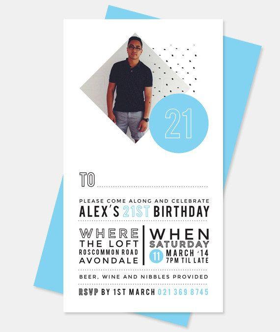 Best 25+ 21st Birthday Invitations Ideas On Pinterest
