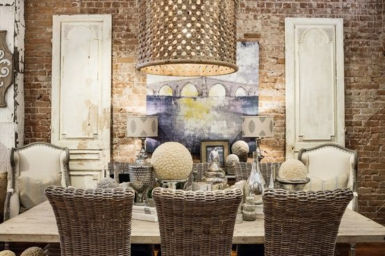 South shore decorating blog oh if i were to go this for Casual dining chandeliers