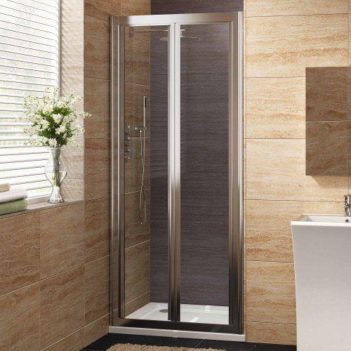 800mm Designer Bi-Fold EasyClean Glass Shower Enclosure Cubicle Doors Set - http://showerdoorspares.co.uk/complete-shower-doors/800mm-designer-bi-fold-easyclean-glass-shower-enclosure-cubicle-doors-set