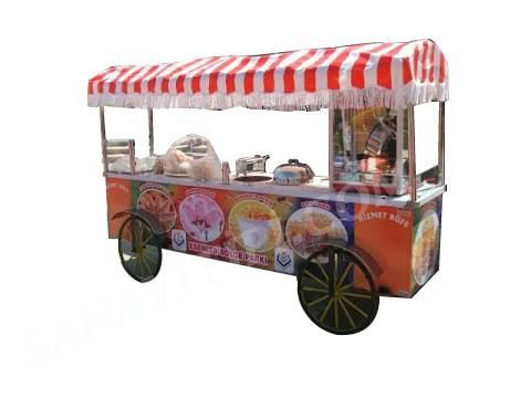Çubukta Patates - Bardakta Mısır - Pamuk Şeker - Popcorn Arabası » - Sanayi tipi