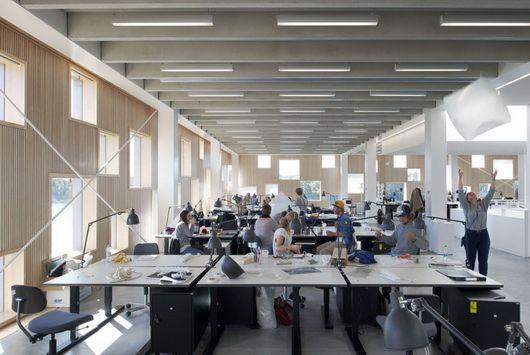 School of architecture Umea by Henning Larsen Architects