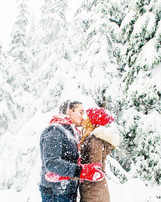 Pretty! Pictures like this are why I hope it snows on our wedding day. On the other hand, that makes travel a lot harder, so I'm torn!
