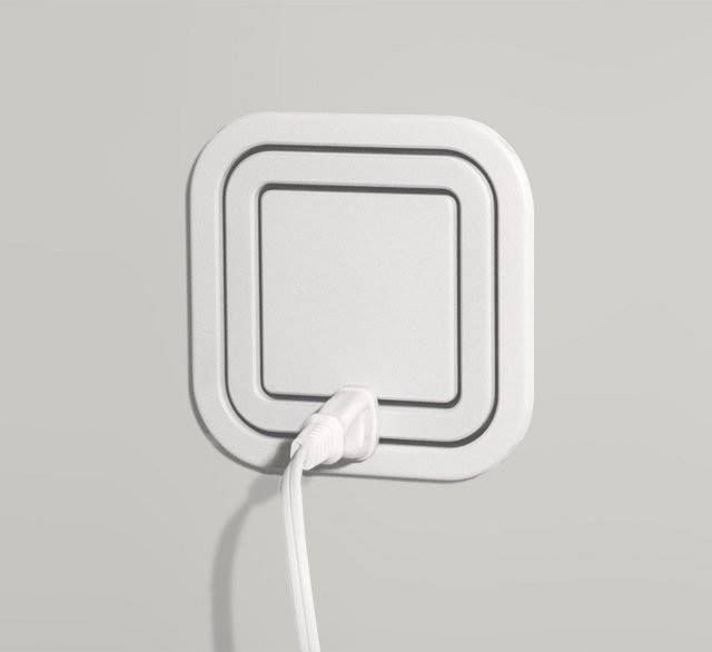 This electrical outlet eliminates the need for power strips, and looks much nicer on your wall. Frikken awesome!!
