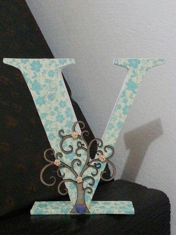 Letras decoradas. Altered letters