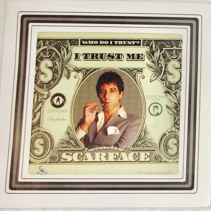 Scarface Wall Art, Scarface Movie Wall Hanging, Collectible Wall Hanging, Films, Scarface Movie by BeanieBabiesandToys on Etsy