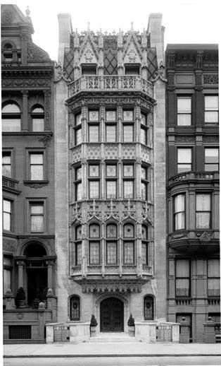 Daytonian in Manhattan: The Lost H. Bramhall Gilbert House.. No. 40 West 57th Street