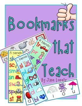 FREE:  Bookmarks that Teach