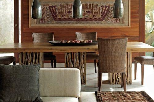 Balinese dining room Design