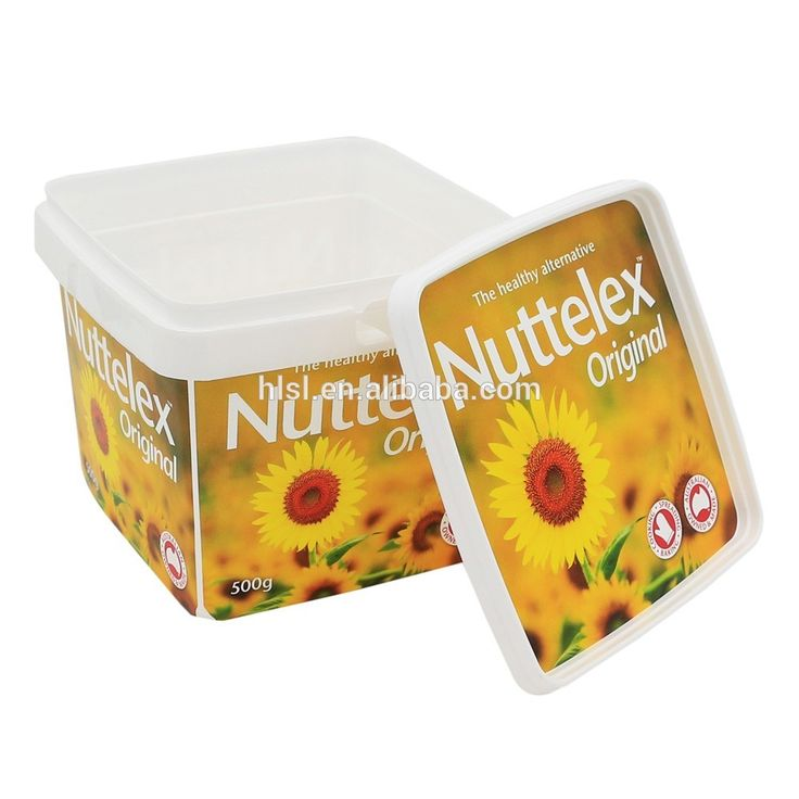 PP Plastic Container for Butter with IML Customized Logo Design,Butter Cookies Box with Lid., View pp plastic container, OEM Product Details from Fujian Henglong Plastic Industrial Co., Ltd. on Alibaba.com