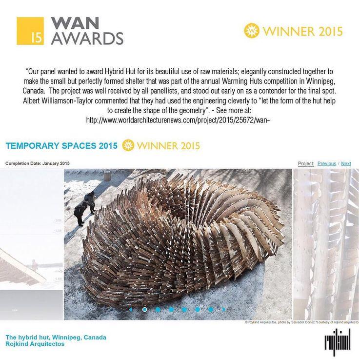 #Winner #Wan2015 @theforkswinnipeg  Thanks