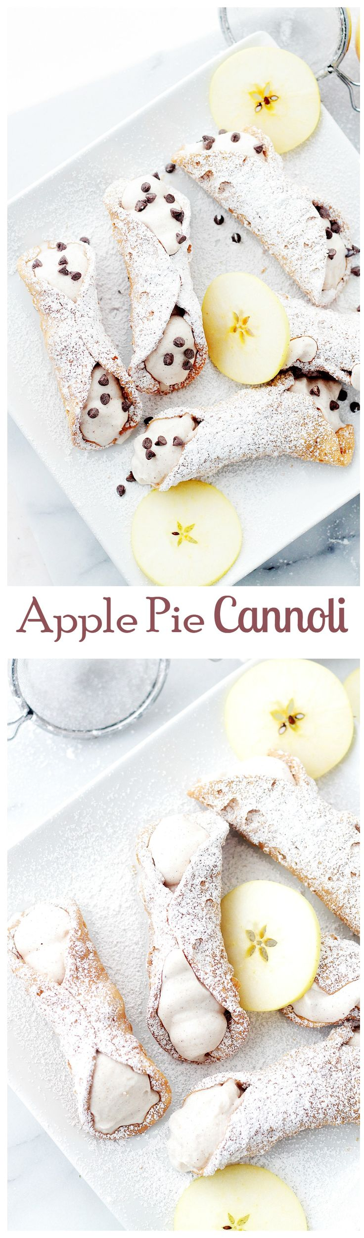 Apple Pie Cannoli