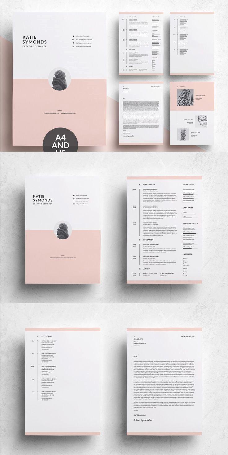 Cv Design Creative Professional Cv Design Creative Graphic Design Resume Resume Design Creative Resume Cover Letter Template
