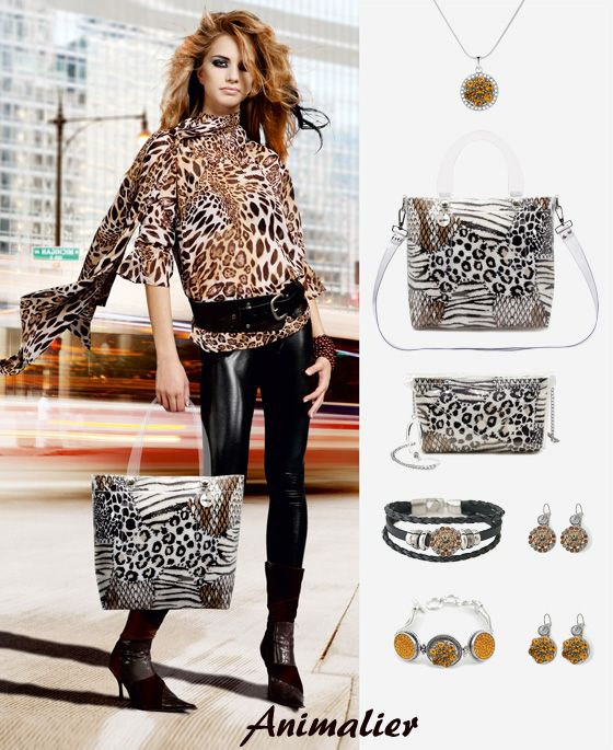 Choose your #look animalier for #Christmas. Create your #WishList  with our Bags and Bi-joux #holidaygiftguide