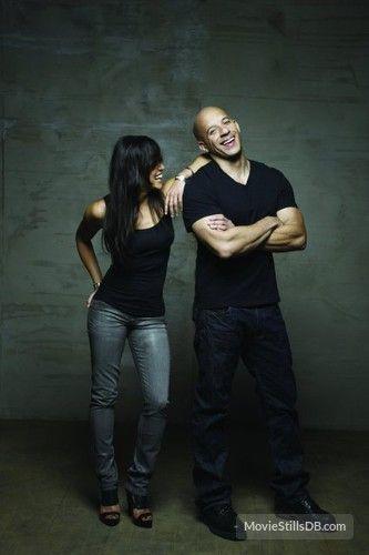 Fast & Furious - Promo shot of Vin Diesel & Michelle Rodriguez