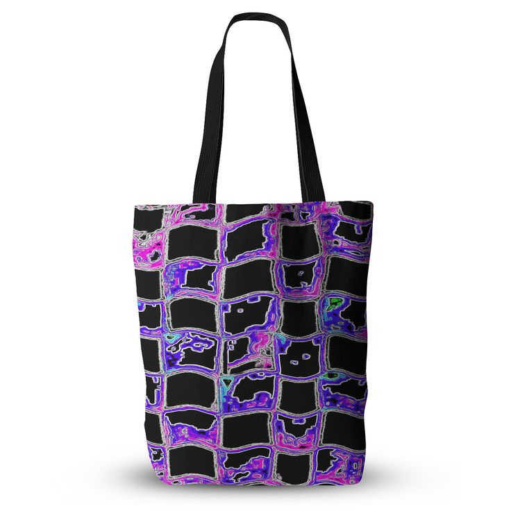 """Anne LaBrie """"The Matrix"""" Purple Digital Everything Tote Bag"""